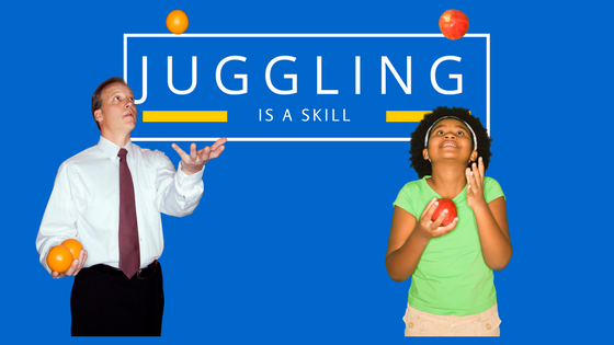 Entrepreneurship is like Juggling. Become an Expert Entrepreneur with This One Piece of Advice.