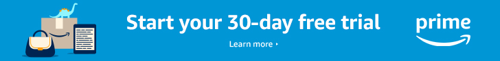 Start your 30-day free trial of Amazon Prime